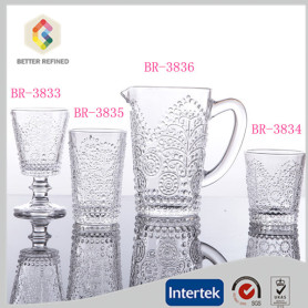 Lead free crystal glass water cup