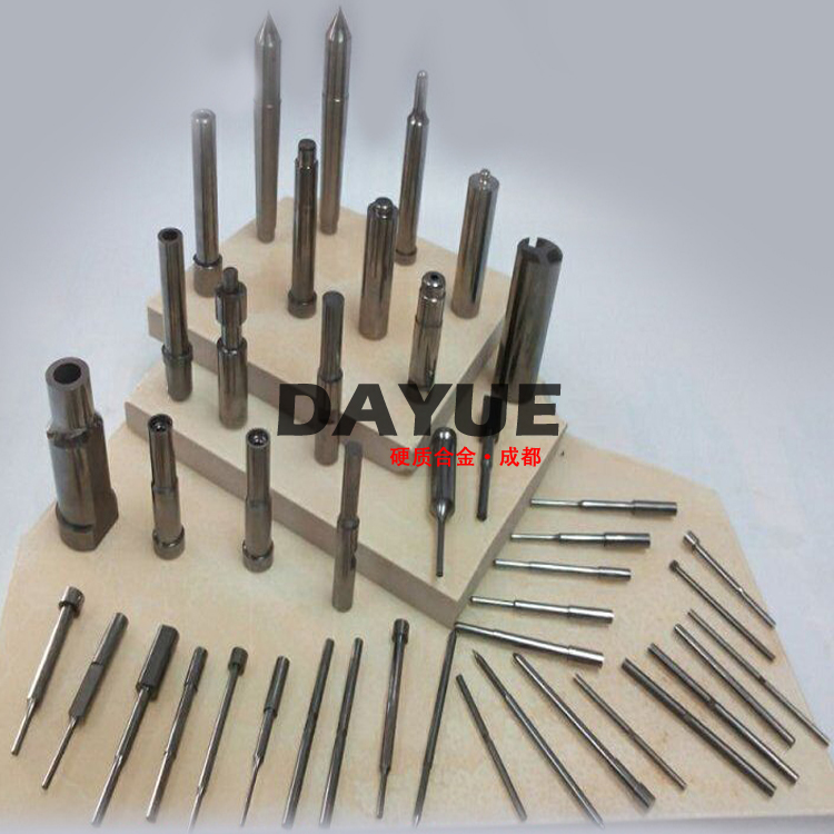 Custom Precision Tungsten Carbide Punches and Core Pins