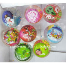 New Design Hi Bounce Glitter Water Ball