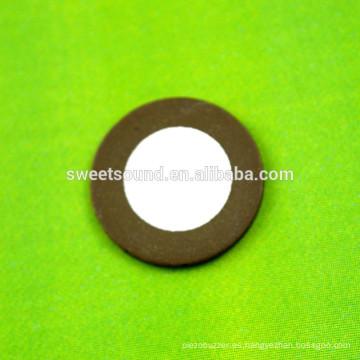 Circularidad atomizador piezo 16mm 1700KHz parte atomizador ultrasónico