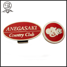 Hard enamel cool golf ball markers