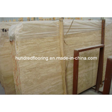 Stone Marble Slab Beige Travertine