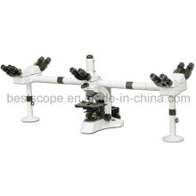Bestscope BS-2080mh10 Multi-Head Microscope with Swing Condenser
