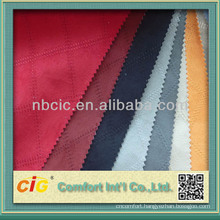 Fashion New Design Embroidery Micro Suede Fabric For Sofa