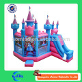 Menina princesa sonho bouncy castelo inflável bouncer