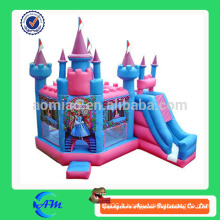 Princesse fille rêve bouncy chateau gonflable gonflable