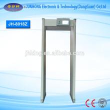 Détecteur de métaux Archway avec 18 zones de détection