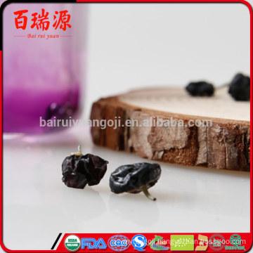 Hot selling organic black goji berries black goji berry dried black goji