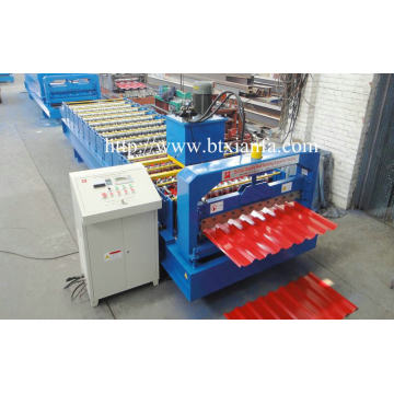 IBR Corrugated Steel Wall Panle Roll Forming Machine