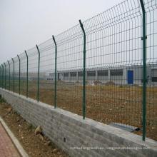 PVC soldado de metal soldado cercado con marco