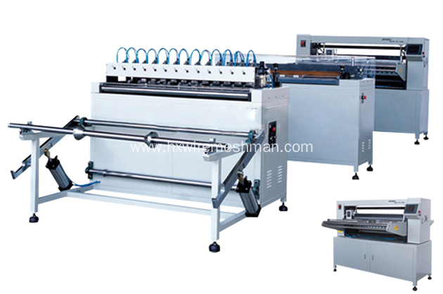 Air filter making machine