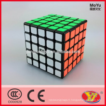 2015 Saling chaud Moyu Huachuang 5 couches Magic Speed Cube Jouets éducatifs Emballage en anglais pour promotion