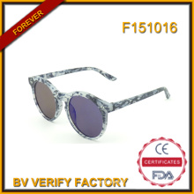 F151016 Lunettes de soleil ronds personnalisés pour homme