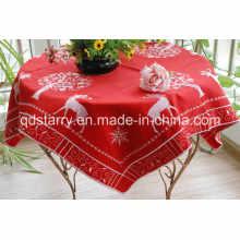 Deer Design Christmas Table Cloth St1731