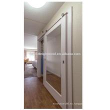 Puertas de espejo corredizas granero de Hampton Inn