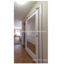 Hampton Inn Mirror Sliding Barn doors