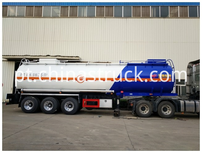 Ammonia Solution Tanker Semi Trailer
