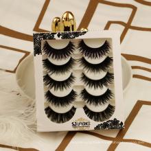 Contact Supplier  Chat Now! 3D 5 pairs lashes H02 false eye lashes whispy false luxurious silk eyelashes false eyelashes cheap