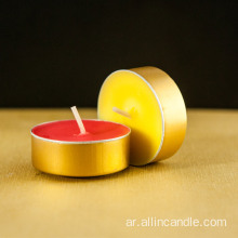 Palm wax pouring homeware tealight candle