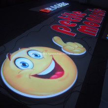 Custom Channel Letters for Tradeshow Shop