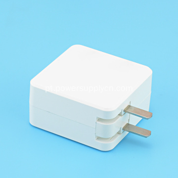 12V 2A EUA Plug Dobrável Mini Power Adapter