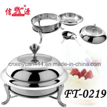 Stainless Steel Hotel Stove with Lid (FT-0219)