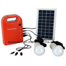 Home Portable Solar LED Lichtsystem für Outdoor Camping