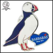 Pigeon dove enamel badges pin