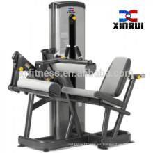 ejercicio extensión de la pierna y máquina de gimnasio de gimnasio xinrui de curl de pierna sentado (9a017)
