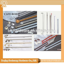 China supplier high quality shower dual curtain rod