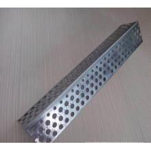 Perla de esquina perforada galvanizada / Aluminio Perla de ángulo de metal / Piedra de yeso Cuentas de ángulo Cuentas de esquina