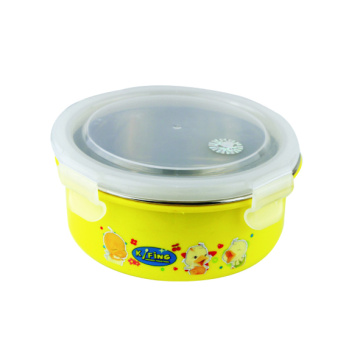 300 ml Stainless Steel Container Round Shaped