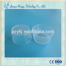 Coupe médicale médicale jetable de qualité supérieure de 60 ml