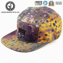 2016 nuevo sombrero colorido Leopard snapback adultos corredor Camper Cap