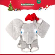 Venta al por mayor Juguete de felpa relleno de peluche lindo del elefante con los oídos grandes
