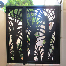 Metal Garden Fence Gate