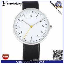Yxl-534 Silver Sunray Face Luxury Stainless Steel Quartz Mens Dress Watch