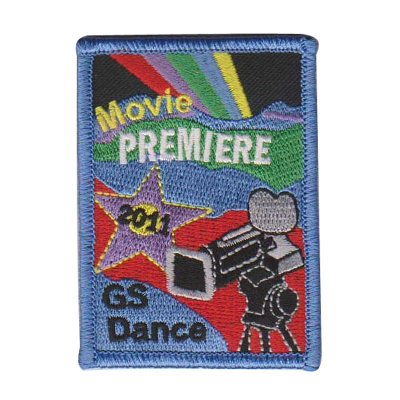 Hollywood Celebration Embroidery Patch