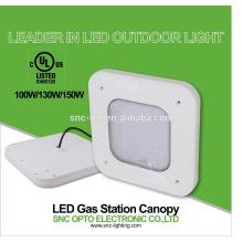 ul cert certificada LED posto de gasolina dossel levou luz de garagem