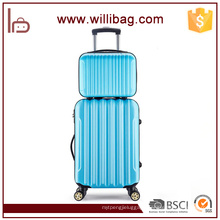 Colorful Fashion Hard Strong Travel Trolley 4 Wheel Luggage Set
