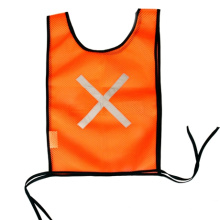 Mesh Fabric Safety Vest with Reflective Tape
