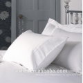 Factory price Cheap hotel use white poly/cotton sateen stripe Pillowcase