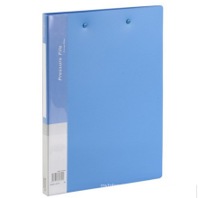 One Stop Shopping Office Supplies A4 plastic clip file folder with a pressure clip