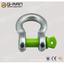 Marine Hardware Forged Galvanized Safety Pin Shackle