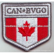 bullion embroidery badge