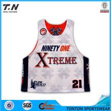 Wholesale Custom Sublimation Lacrosse Jersey for Men