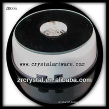 Fashion Plastic LED Light Base for Crystal