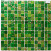 Green Goldstar Chinese Mosaic