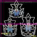Cheap christmas man pageant crowns tall christmas crowns tiaras