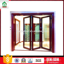 Low-E double glass folding door
